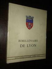 REVUE HISTORIQUE DE L'ARMEE - 1958 - Bimillénaire de Lyon