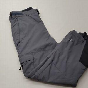 Pantalon De Esquíar De Snowboard Para Hombre Columbia Impemeable Nieve Forrado L