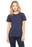 Bella Relaxed Women's Style #6400 Fine Jersey T-Shirt, Sm-2XL, 4 Colors