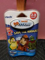 Vtech V.Smile Motion Active Learning System- Save the Animals
