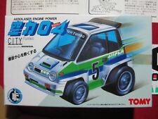 1980s Tomy Honda City Turbo Vintage Aerolaser Engine Power Japan Tomica Toy Car