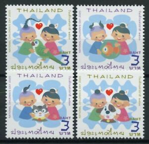 Thailand Domestic Animals Stamps 2020 MNH Children's Day Cats Dogs Birds 1v Set