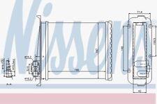 Nissens 73640 Heater Matrix VOLVO 850 94-