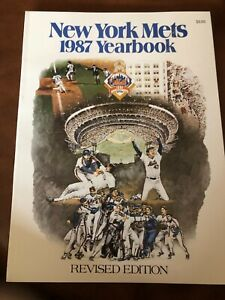 NEW 1987 New York Mets Yearbook Championship Revised Edition Gooden Strawberry