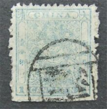 nystamps China Dragon Stamp # 10 Used $100   L30y3176