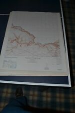 1940's Army topo map Weeden Humble Texas Sheet 6944 III SE George Bush Airport