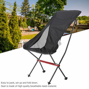 Outdoor Ultralight Folding Camping Backpack Chairs Fishing Chair with Cushion