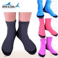 Dive Socks Men's Neoprene Waterproof  Water Shoes Boots Beach Swim Fins 1.5mm