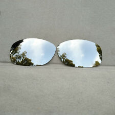 Silver Mirrored Replacement Lenses for-Oakley Ten Sunglasses Polarized
