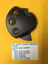 NOS SUZUKI engine sprocket cover, TM125,TM 100,RM 125,AHRMA (11360-28300)