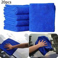 20x Profi Auto Poliertuch Trockentuch Mikrofasertuch Microfaser Car Towel 02