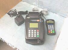 GUC! ECLIPSE QUARTET WK3706 TELECHECK & CREDIT CARD TERMINAL W/ PIN PAD
