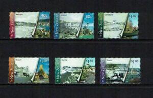 New Zealand: 1998, Millennium Series (3rd issue) Urban Transformation, MNH set