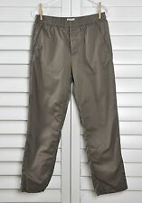 MARNI at H&M Elastic Waist Tapered Ankle Cropped Casual Pants Size 32 R