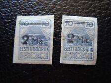 ESTONIE - timbre yvert et tellier n° 46 x2 n* MH (TU)