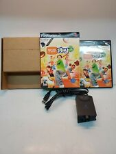 EyeToy: Play 2 + USB Camera Bundle (PlayStation 2, 2005) PS2 GREAT CONDITION