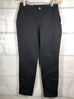 Maison Jules 0 NWT  Slim Ankle Pants DEEP Black small