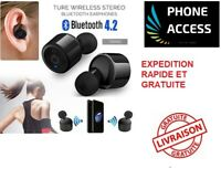 X2T Mini TWS Véritable sans fil Bluetooth 4.2 Casque stéréo In-Ear écouteurs