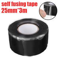 Ruban Tape Bande Réparation Câble Tuyau Silicone Etanche Auto-adhésif 3m*25mm
