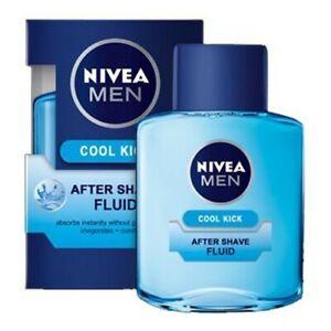 Nivea Face After Shave Fluid For Men Cool Kick Hydration Tones Stimulates 100 ml