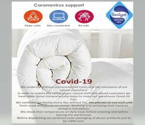 Anti Allergy Duvets 7.5 tog Light Winter Warm Polypropylene Quilt All UK Sizes