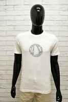 Maglia MURPHY & NYE Uomo Taglia S Maglietta Shirt Man Cotone Bianco Manica Corta