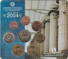 Griekenland BU set 2004 / 1 cent - 2 euro KMS