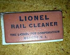 Lionel Rail Cleaner Eraser, Sealed, Excellent+, NO RESERVE