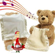 Peek A Boo 30cm Teddybär Plüsch Plüschtier für Kinder Kid Geburtstagsgeschenk DE