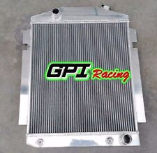 56mm ALUMINUM RADIATOR for CHEVY PICKUP/TRUCK W/SBC/BBC V8 OR L6 1938-1940 1939