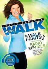 Leslie Sansone: JUST WALK - Walk to the Hits RADIO REMIXES (DVD) New Free Ship