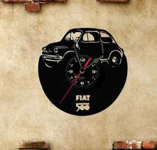 Orologio disco vinil clock orologio da parete Fiat 500