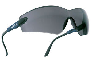 Bolle Viper cycling / safety glasses specs spectacles smoke / shaded lens