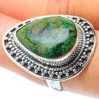 Large Azurite 925 Sterling Silver Ring Size 8 Ana Co Jewelry R31109F