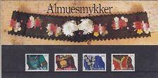 Dänemark Mi Nr. 1064 - 1067 ** im SM 12, Theaterschmuck, postfrisch, MNH