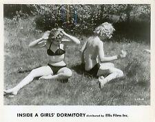 FRANCOISE ARNOUL DORTOIR DES GRANDES 1953 VINTAGE PHOTO ORIGINAL N°1
