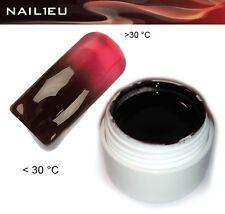 UV Gel Termico 11 Marrone - ROSSO 5 ML / UNGHIE Colorgel Thermo di colore