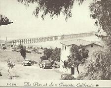 "SAN CLEMENTE Surfing PIER T-Street Avenida Del Mar Photo Print 1531 11"" x 14"""