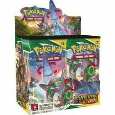 Pokemon Tcg Sword & Shield Evolving Skies Booster Box swsh 07 sellado de fábrica