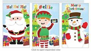 Santa Elf Snowman Christmas Mini Notebooks / Notepads , Stocking Fillers ⭐⭐⭐⭐