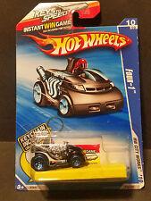 2010 Hot Wheels #118 HW City Works 10/10 - Four-1 w/Keychain - R7543