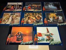 SUPERGIRL rare jeu 14 photos cinema prestige grand format comics bd super heros