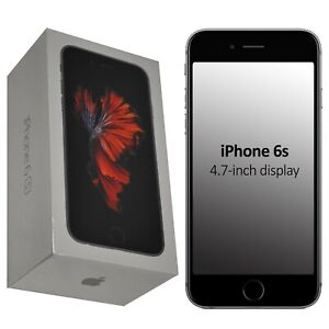 New Apple iPhone 6s 32GB A1688 MN0W2B/A Space Grey Factory Unlocked 4G/LTE GSM
