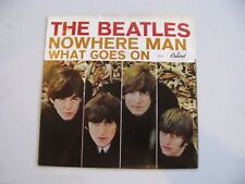 Beatles Nowhere Man Picture Sleeve with 45 NICE! 1966