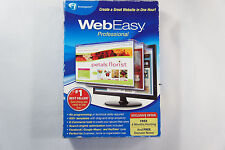 Avanquest Web Easy Professional Design Websites, HTML,Listing