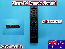 Sharp TV Remote Control Replacement YK-76HE *Brand NEW* (C758)