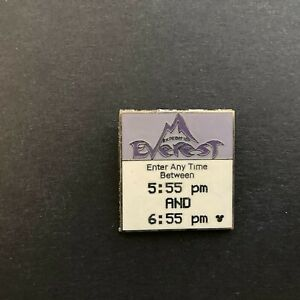 WDW - Hidden Mickey - Fast Pass Series - Expedition Everest Disney Pin 58999