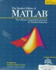 The Student Edition of Matlab: Version 4 : User's Guide (The Matlab Curriculum S