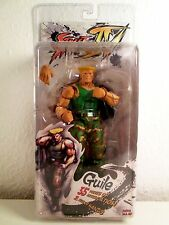 Street Fighter IV GUILE - NECA Series 2 Player Select Action Figure NEU NEW NIB