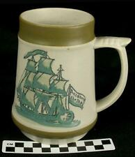 Vintage Holt Howard 1967 Nautical Ship Coffee Beer Stein Mug Don't Give Up HH